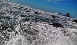 High Tide at Ecola Point