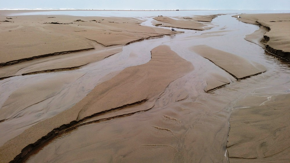 Sand Erosion and Accretion