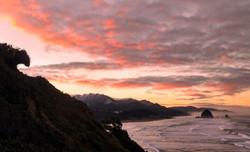 Land Wave at Dawn