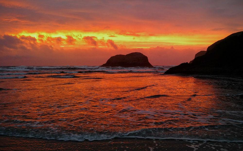 Chapman Point Sunset