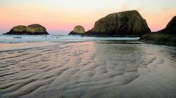 Chapman Point and Bird Rocks at Dawn
