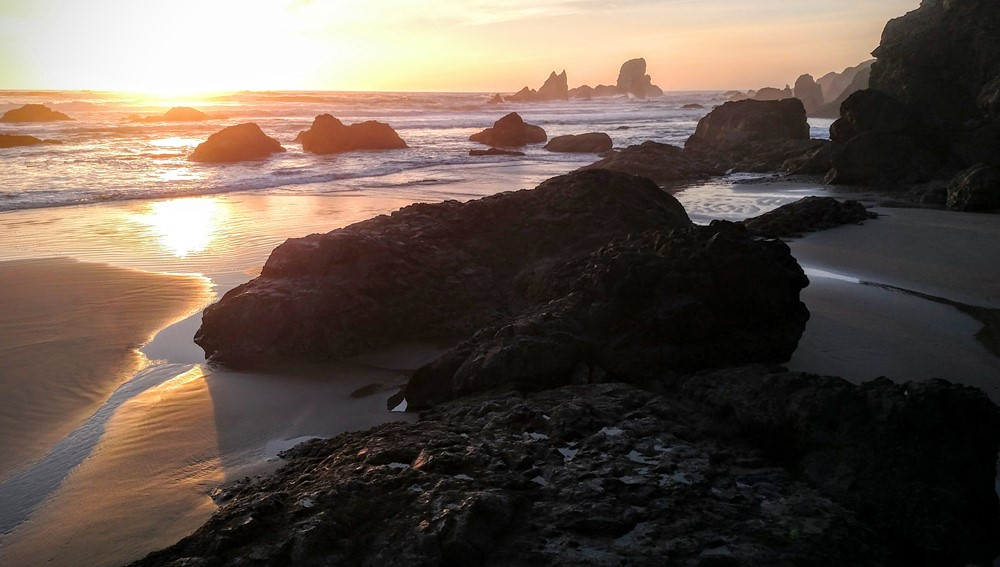Low Tide at Ecola Point