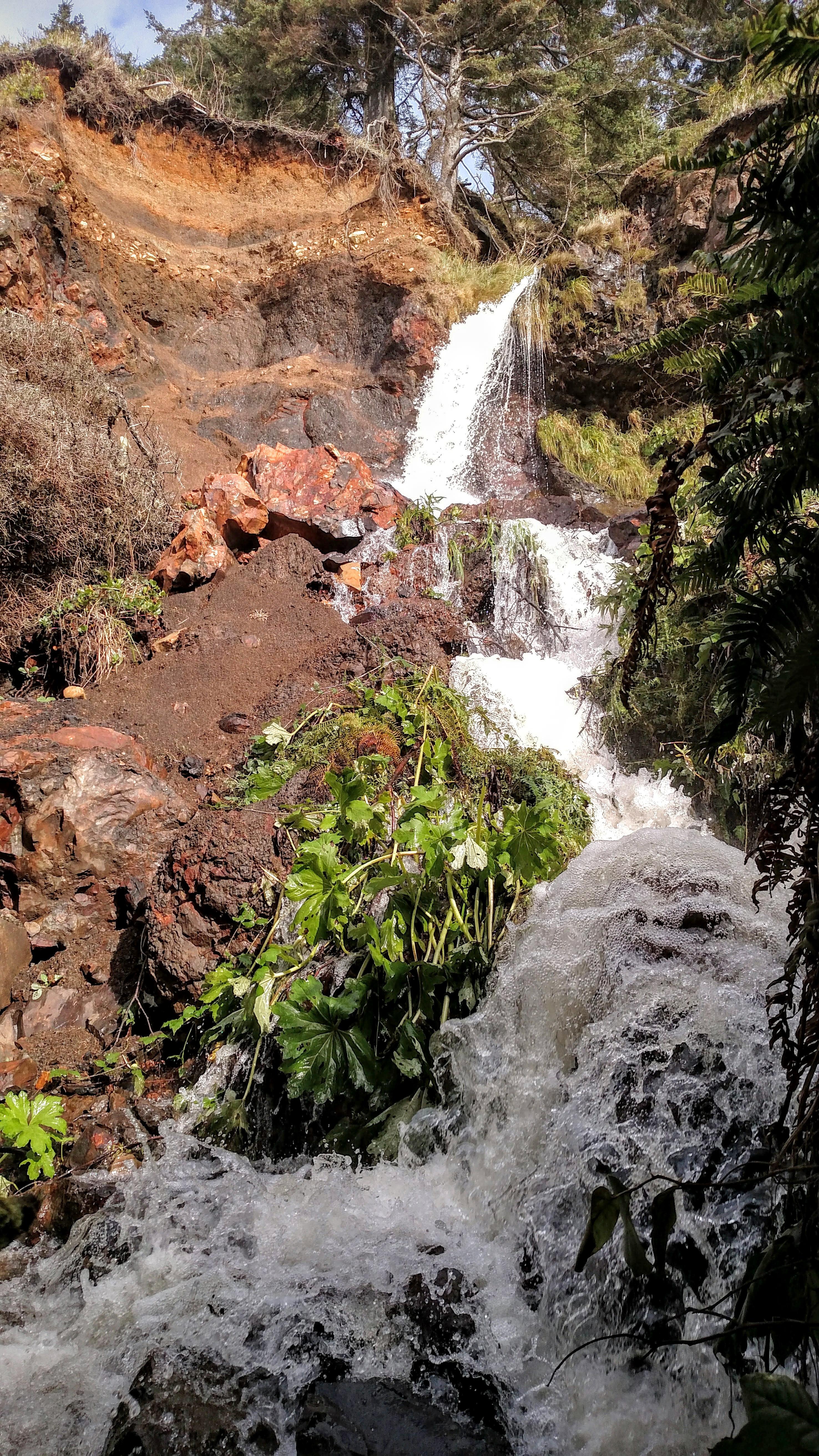 Crescent Beach Waterfall