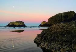 Chasing Moonlight at Chapman Point