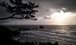 Winter Light at Ecola