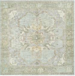 #1901444  7''x 8' Blue & Gray Ou Rug
