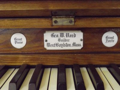 GeorgeWReed-organ-nameplate-e15489037951