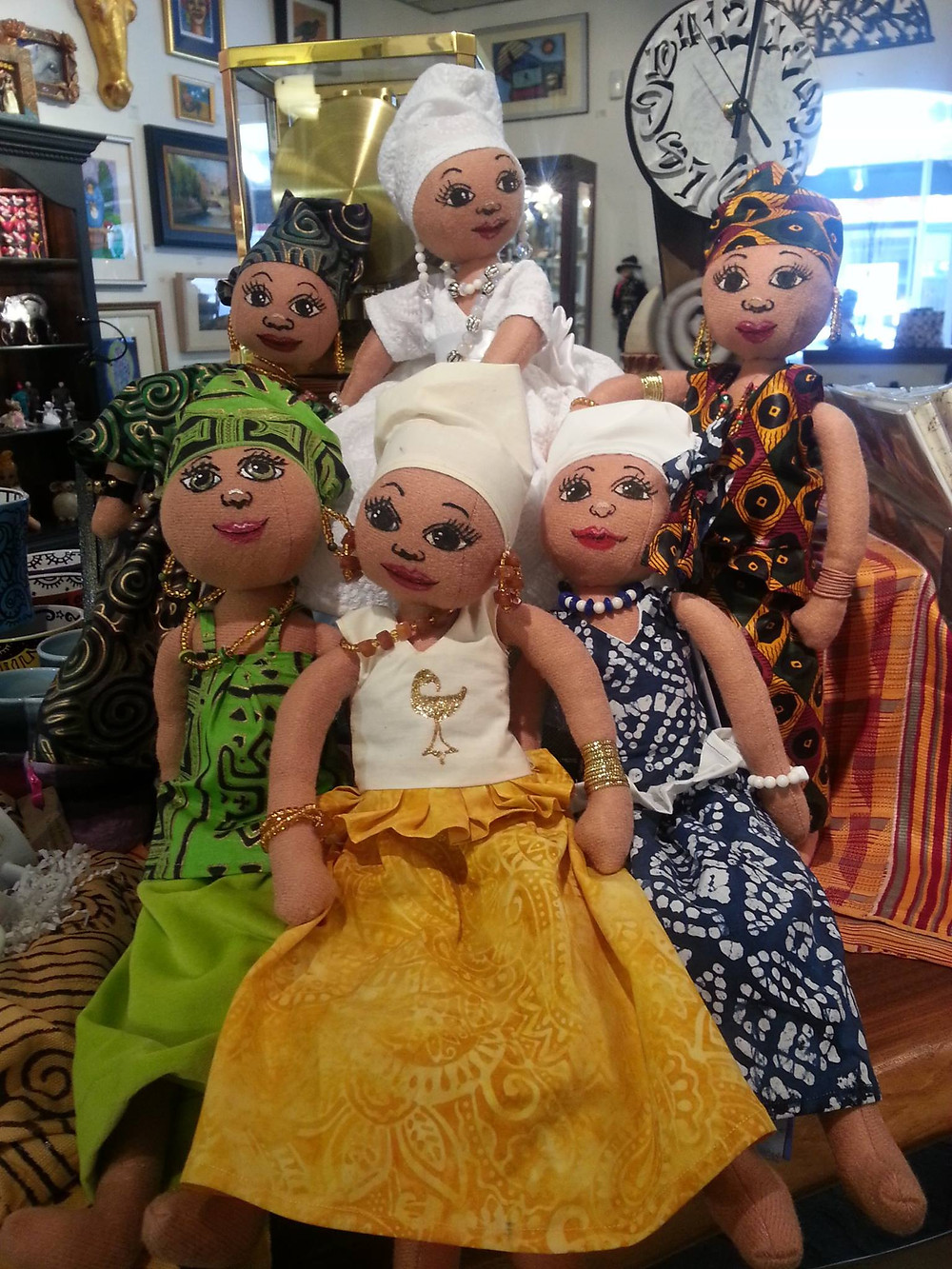 Dolls by Kimberly Camp