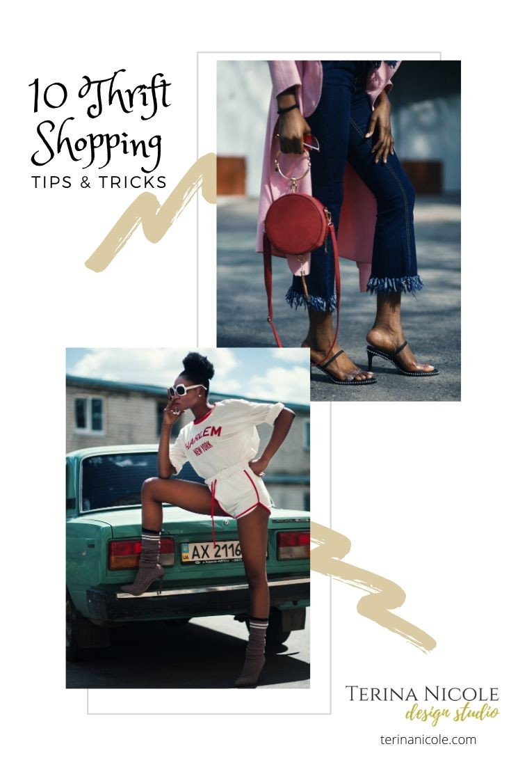 thrifting tips for vintage shopping by terina nicole
