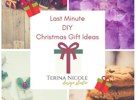 Last Minute DIY Christmas Gift Ideas