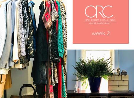 Week 2 of the #OneRoomChallenge: Making Progress!