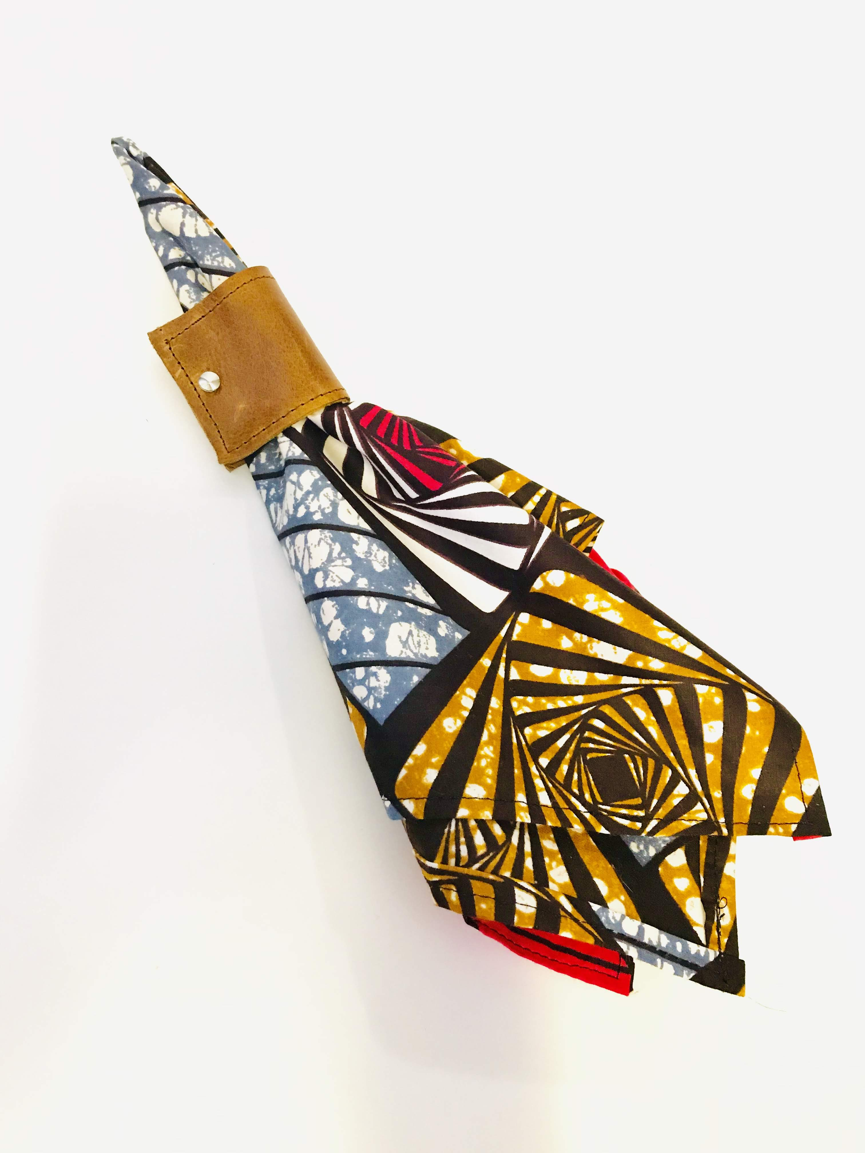 African Wax Print Napkins