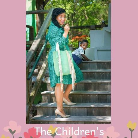 The Children's Botanical Garden with Baby Camden