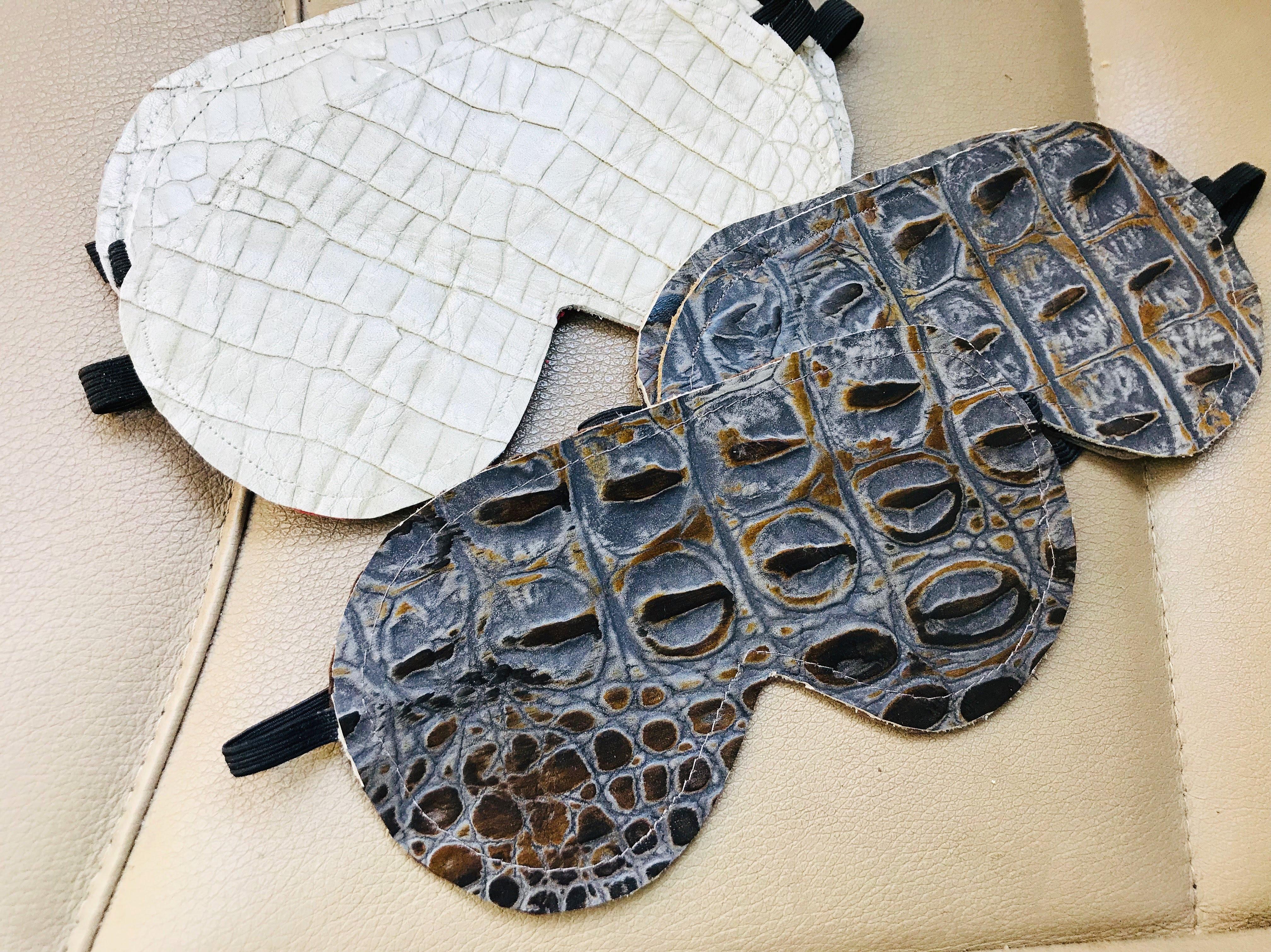 Leather Sleep Masks