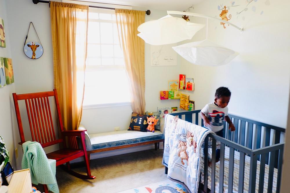 nursery decor on a budget