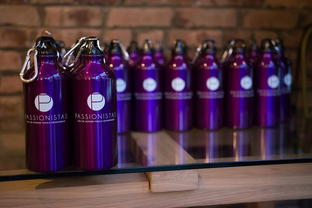 Passionistas water bottles for all!