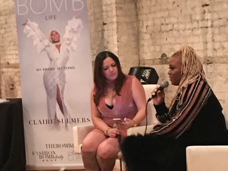 Conversations with Claire Book Tour kicked off in Philadelphia