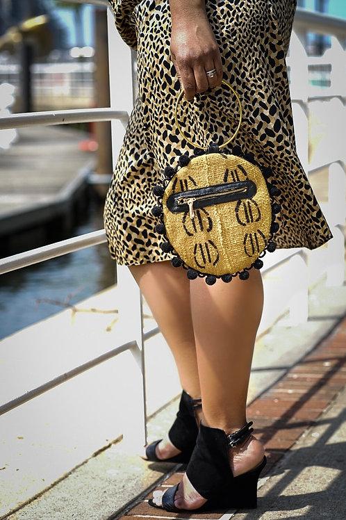 Tambourine Bag in Goldenrod