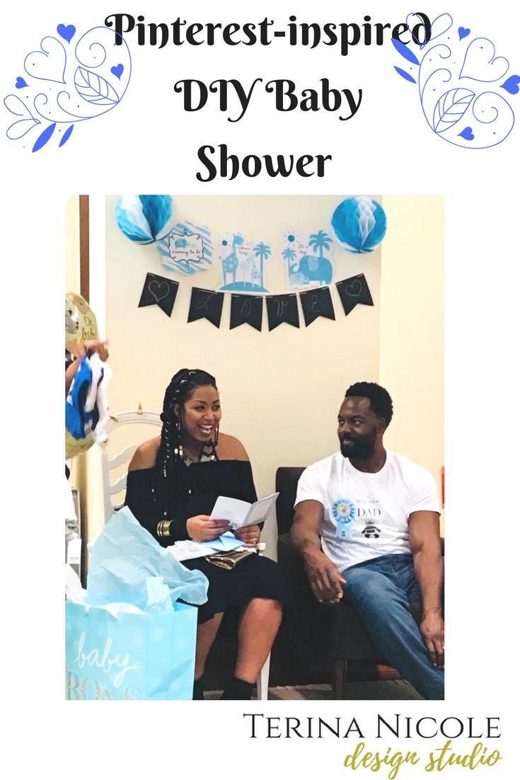 Pinterest-Inspired DIY Baby Shower Decor
