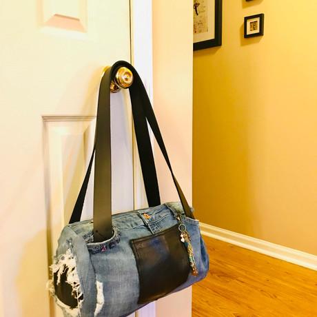 Upcycled Denim Handbag