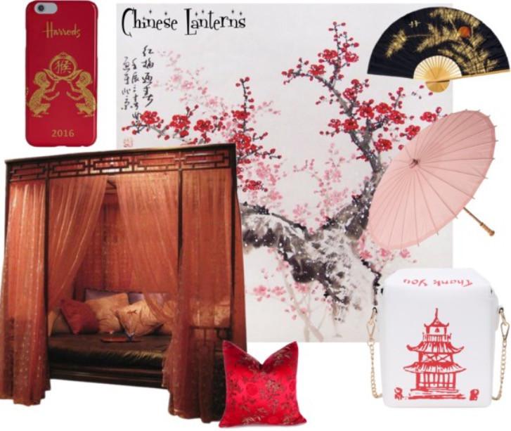 Chinese Lantern Moodboard