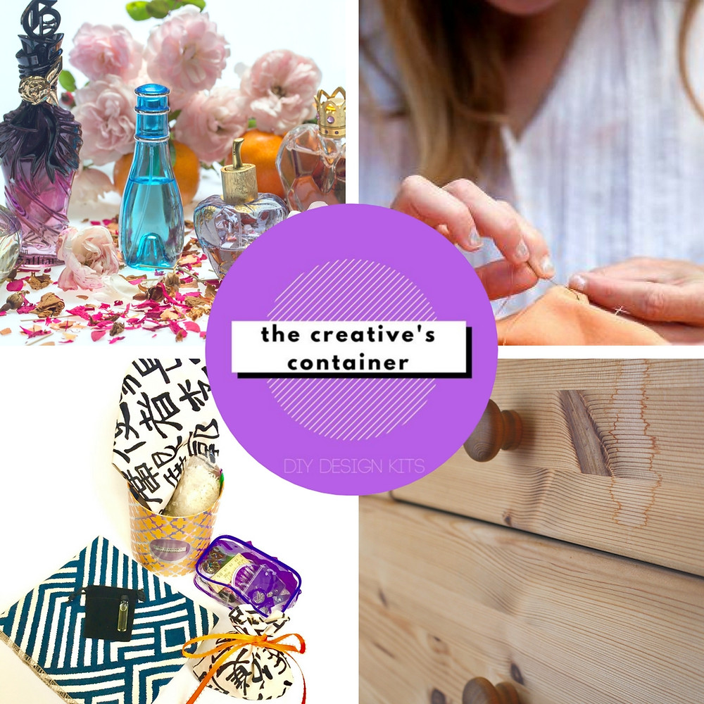 DIY Perfumed Drawer Sachets from The Creative's Container