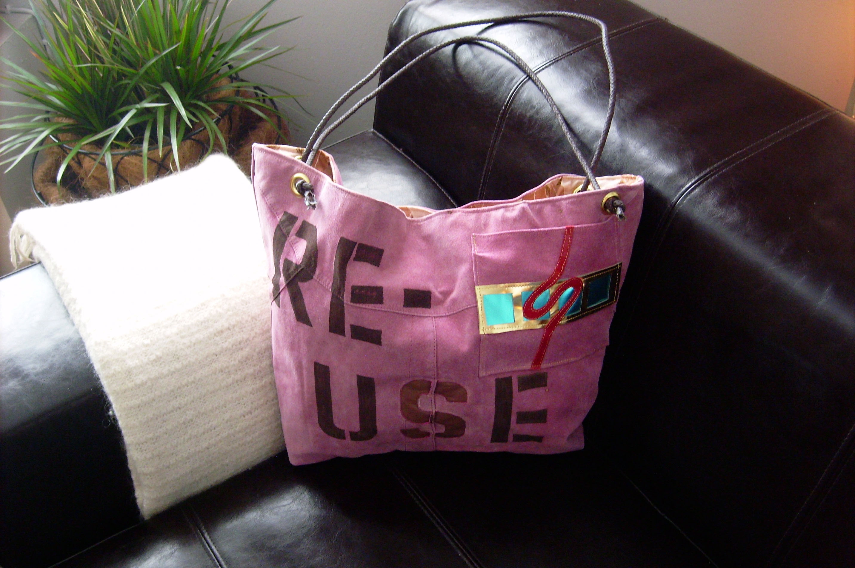 Re-Use Shoulder Bag