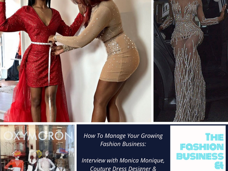 How To Manage Your Growing Fashion Business