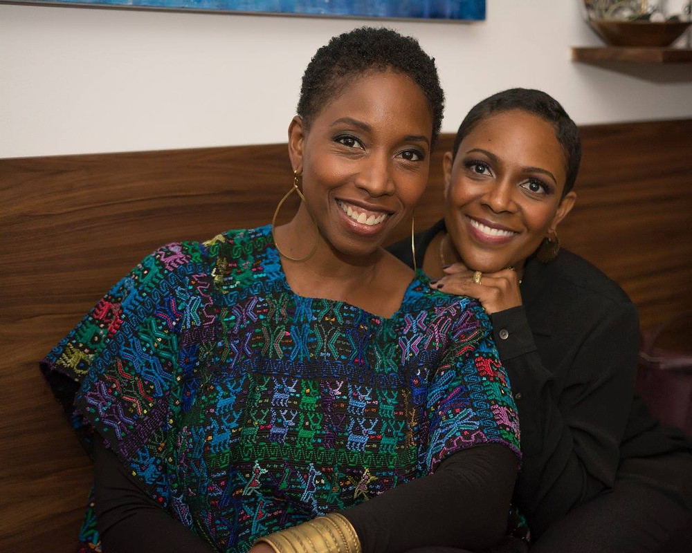 Designer Malene Barnett and Passionistas founder, Beth Diana Smith
