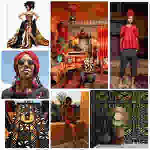 moodboard for jypsea leathergoods mali x morocco