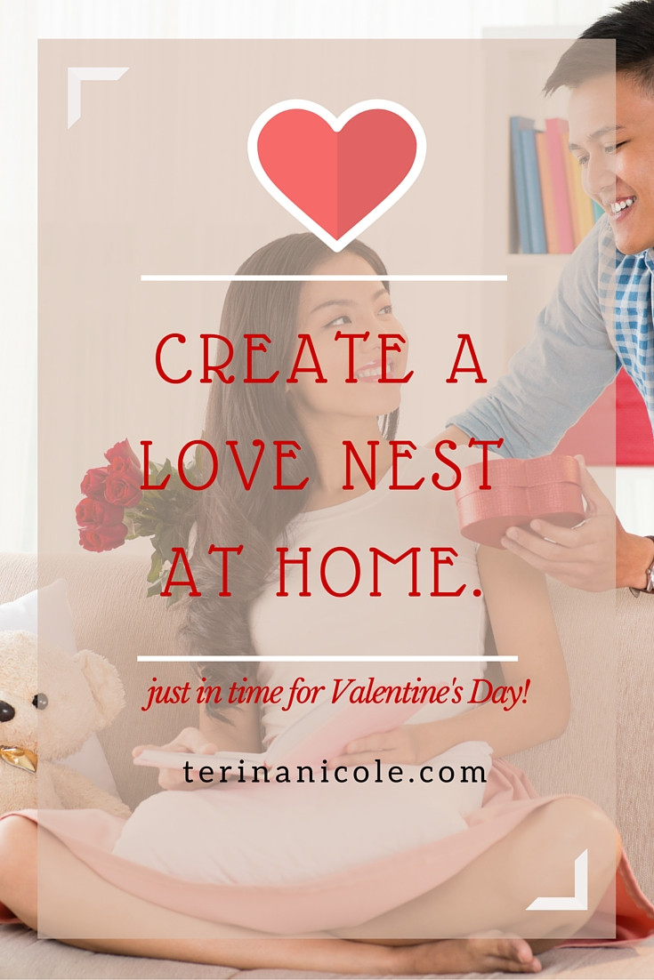 Create a Love Nest at Home for Valentine's Day