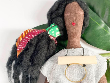 Interview with Doll Designer/Fashion Illustrator Sarah Djarnie-Brown