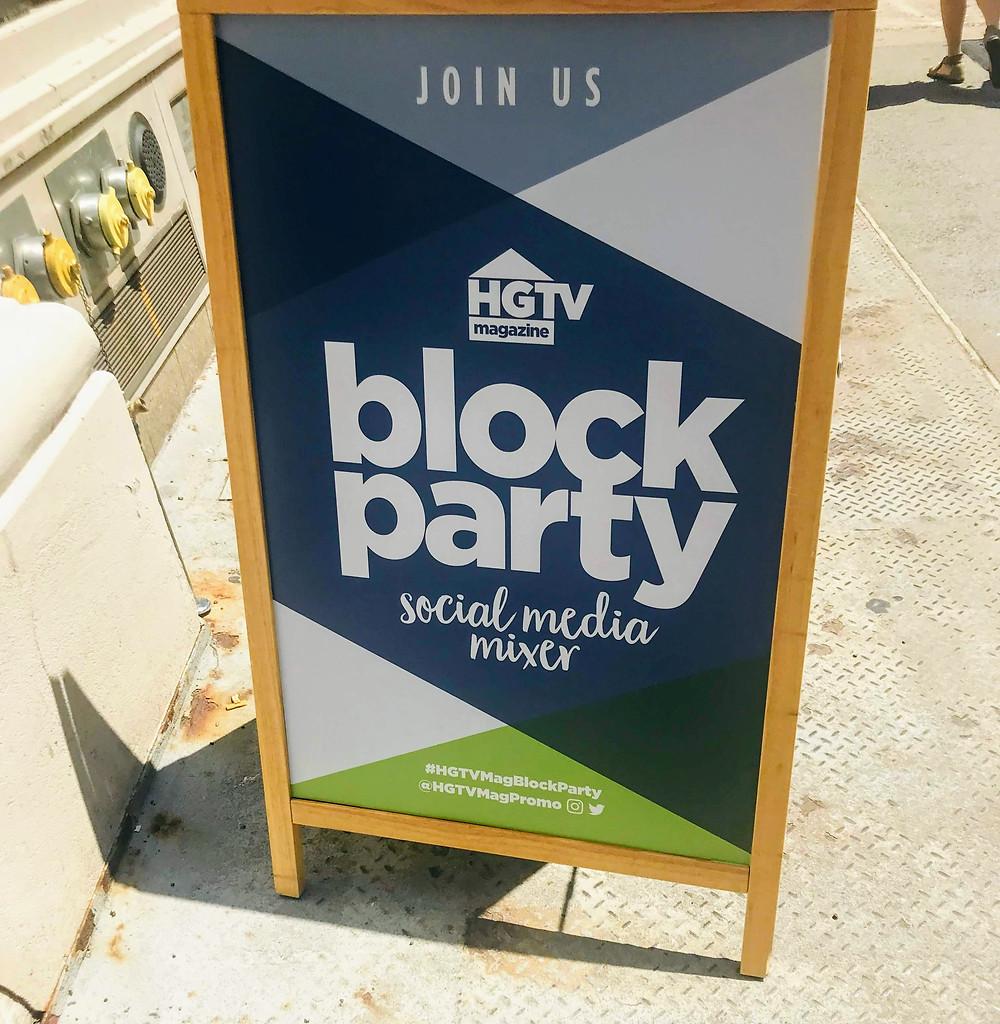 HGTV Block Party recap