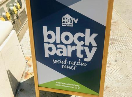 HGTV's Block Party Recap