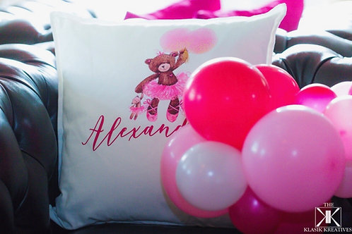 Balloons and Bears Pillow