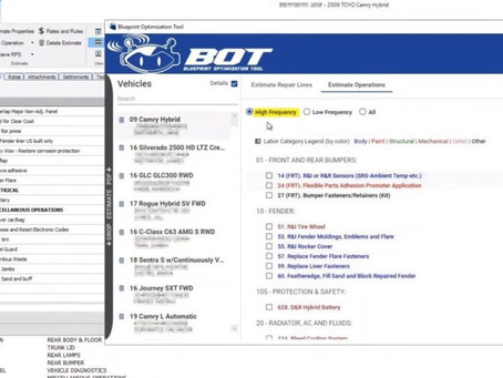 See live demo of SCRS 'BOT' auto body estimating tool Wednesdays at 2:30 p.m. ET