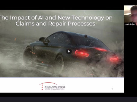 Bringing AI & New Technology to the Claims and Vehicle Repair Processes