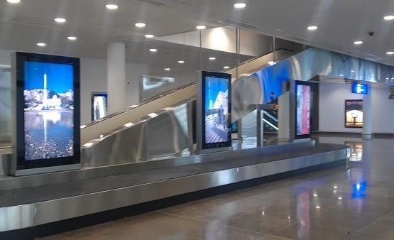 Gibraltar Airport Screens 2011