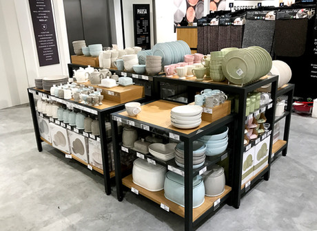 Table displays