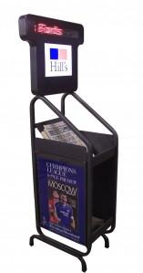 Information Magazine Stand