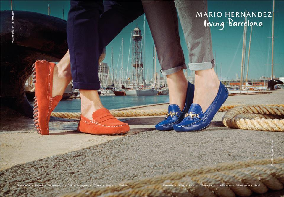 Modelo de zapatos