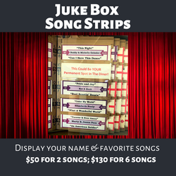 Juke Box Song Strips
