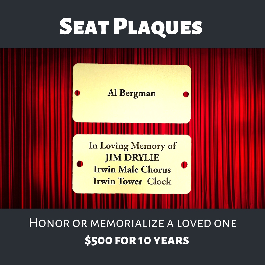 Seat Plaques