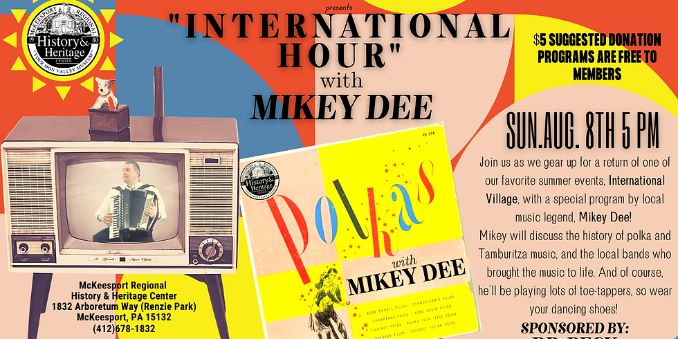 International Hour with Mikey Dee