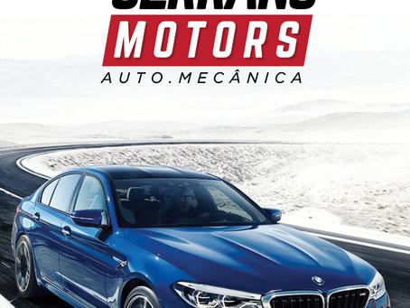Serrano Motors | Atualização do Logotipo