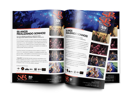 Banda SP3 | Anúncio de Revista