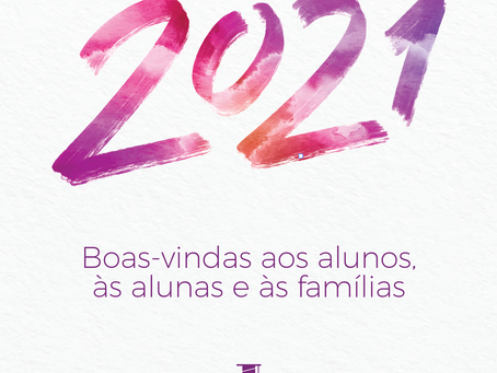 Boas-vindas aos alunos, às alunas e às famílias