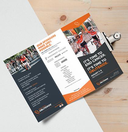 Obliteride Tri-Fold Brochure