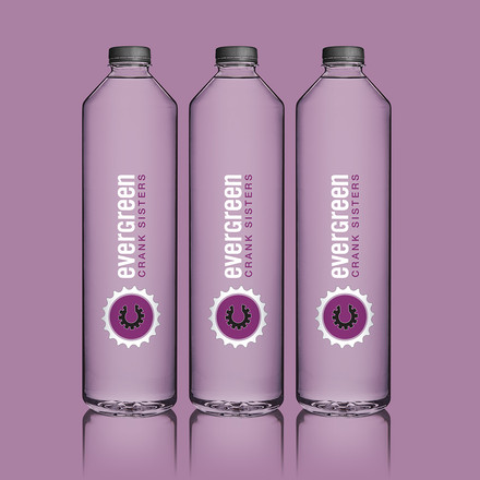 Crank Sisters Water Bottles