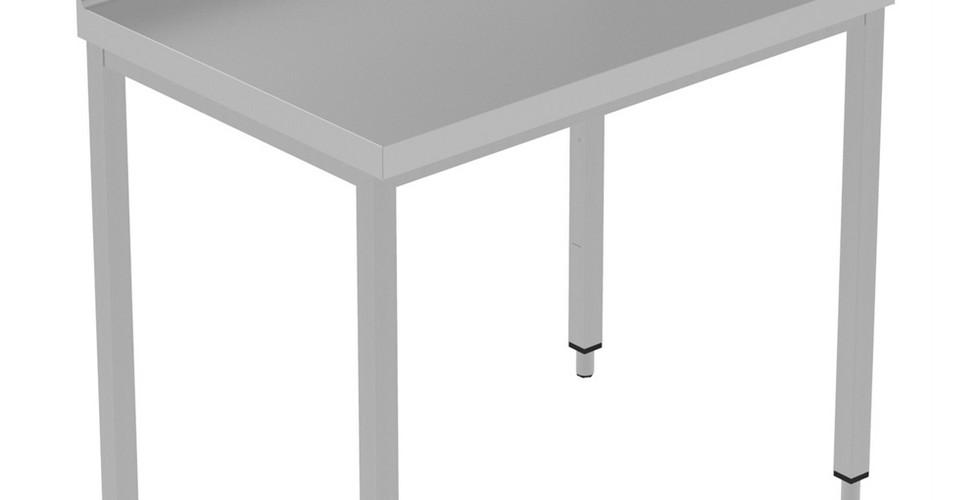 Preparação Estática  Mesa de Trabalho de 1000 mm com Upstand 134011 Mesa de trabalho com 100mm para cima, 1000mm